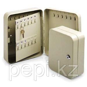 Ящик на 72 ключей с замком, серый