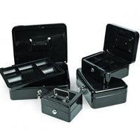 Ящик для денег, 150х110х75мм, черный