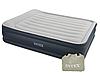 Кровать надувная Intex 152х203х42 см, max 273 кг Intex 64136, поверхность флок, встроенный насос