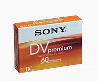 Кассета 60 мин MiniDV Premium Sony, Новинка