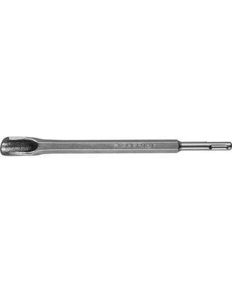 Зубило штробер полукруглое SDS-plus, ЗУБР 29366-22-250, 22 x 250 мм