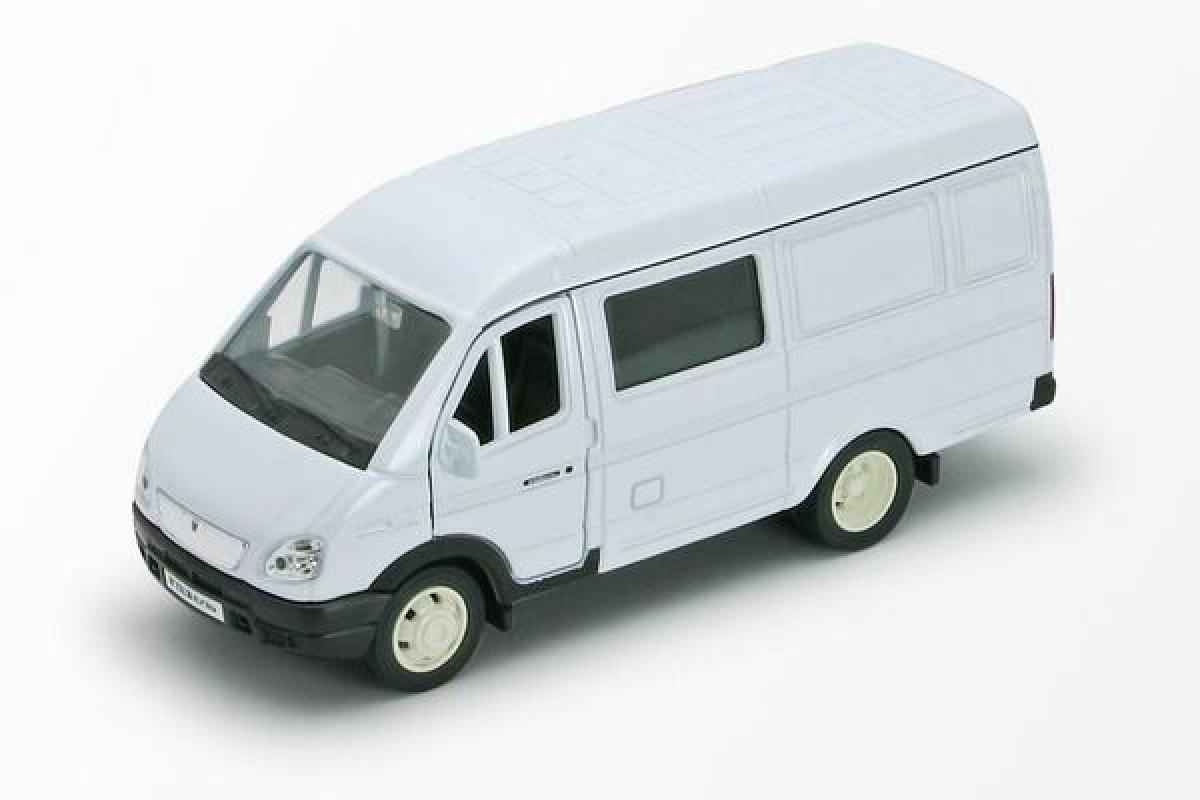 1/34 Welly Масштабная модель автомобиля Газель - Фургон с окном