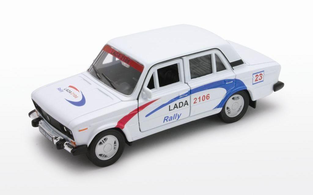 "1/34 Welly Масштабная модель автомобиля LADA 2106 ""Rally"""