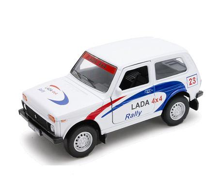 "1/34 Welly Масштабная модель автомобиля LADA 4x4 ""Rally"""