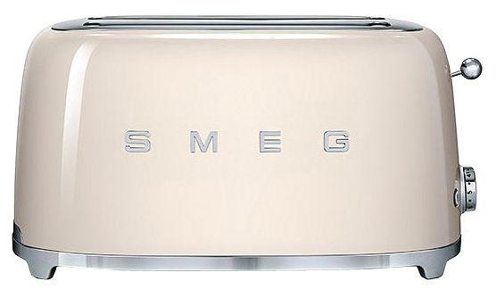 Тостер Smeg TSF02CREU (кремовый)