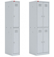 Металлический шкаф для одежды ШРМ 12, 24