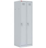 Металлический шкаф для одежды ШРМ 22М, 22М/800