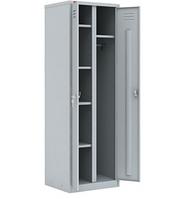 Металлический шкаф для одежды ШРМ 22У