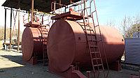 Резервуар горизонтальный стальной, тип РГС