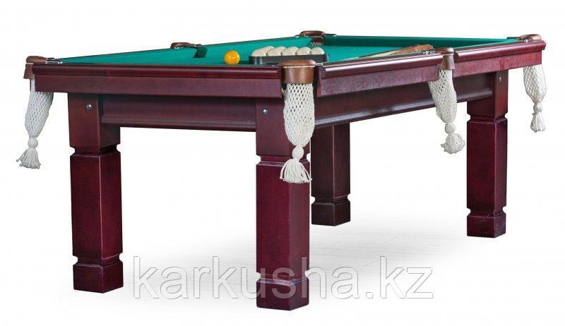 Бильярдный стол для русского бильярда «Texas» 9 ф (махагон)