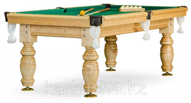Бильярдный стол для русского бильярда «Дебют» 8 ф (светлый) ЛДСП