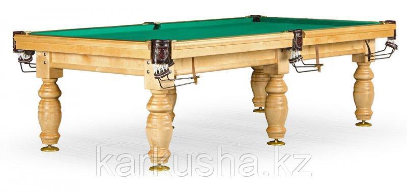 Бильярдный стол для русского бильярда «Дебют» 10 ф (светлый)