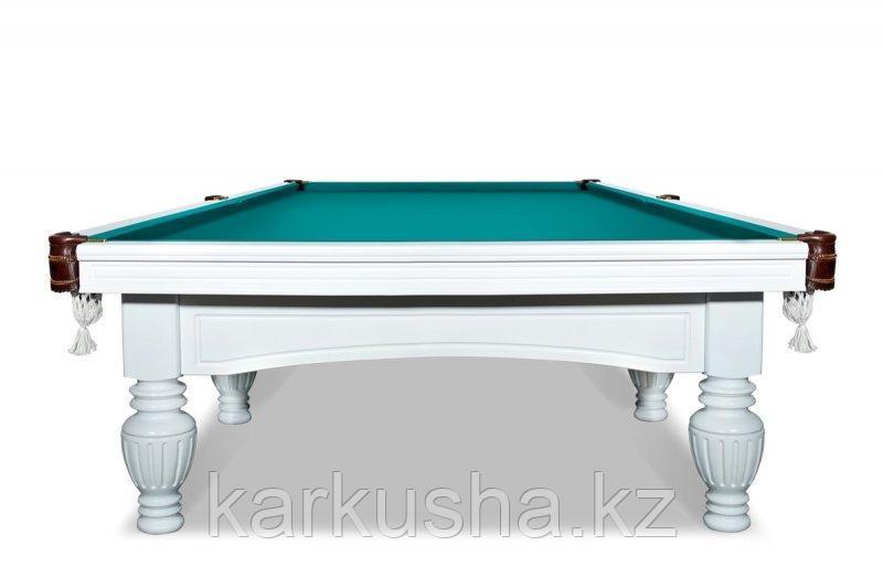 Бильярдный стол для русского бильярда «Консул» 12 футов (белый)