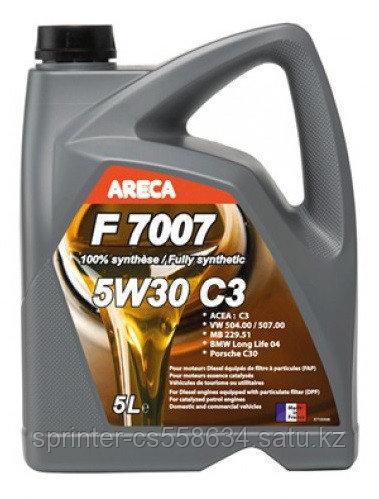 Моторное масло ARECA F7007 C3 5 литров