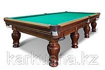 Бильярдный стол для русского бильярда «Ренессанс» 12 футов (черный орех)