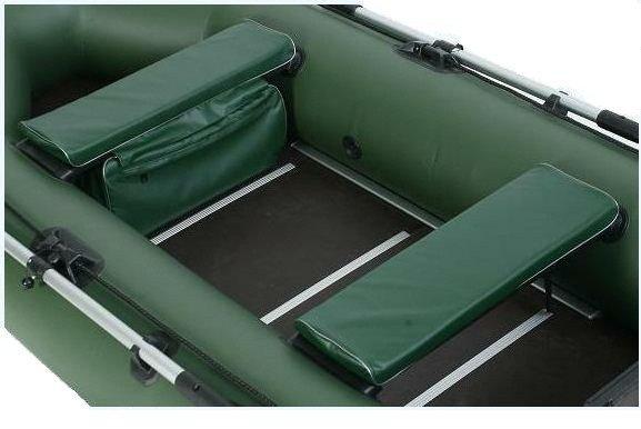 Мягкие накладки с сумкой из пвх для лодок, фото 2