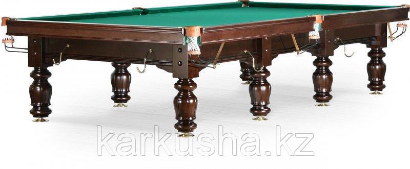 Бильярдный стол для русского бильярда «Classic II» 12 ф (черный орех)