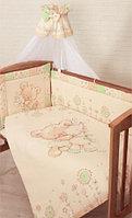 Золотой Гусь Комплект в кровать 7 предметов Мика зеленый
