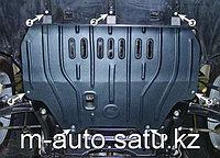 Защита картера двигателя и кпп на Subaru Impreza/Субару Импреза 2008-