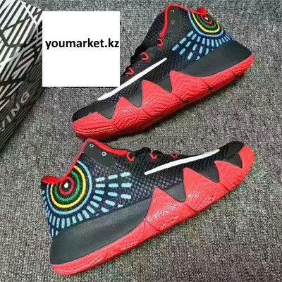 Баскетбольные кроссовки Nike Kyrie IV ( 4 ) черно красные, фото 2
