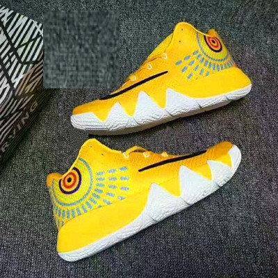 Баскетбольные кроссовки Nike Kyrie IV ( 4 ) желтые, фото 2