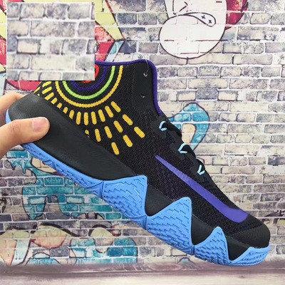 Баскетбольные кроссовки Nike Kyrie IV ( 4 ) черно синие, фото 2