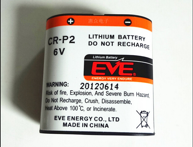 Батарейка EVE CR-P2  6v