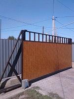 Монтаж консольных и распашных ворот