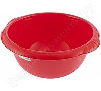 Пластмассовый круглый таз 9л, красный Elfe Россия 92982
