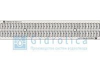 Решетка водоприемная Gidrolica Standart РВ -15.18,6.100 - штампованная стальная оцинкованная, кл. А15, фото 1