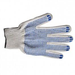 Перчатки рабочие 10 класс 4-нити (эконом) с пвх