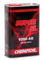Моторное масло CHEMPIOIL Super SL 10w40 1 литр