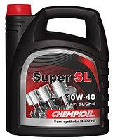 Моторное масло CHEMPIOIL Super SL 10w40 4 литра