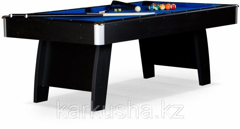 """Бильярдный стол для пула """"Riga"""" 8 ф (черный) ЛДСП в комплекте аксессуары"""