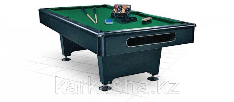 """Бильярдный стол для пула """"Eliminator"""" 8 ф (черный) в комплекте, аксессуары + сукно"""