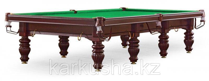 Бильярдный стол для снукера «Dynamic Prince» 12 ф (махагон)