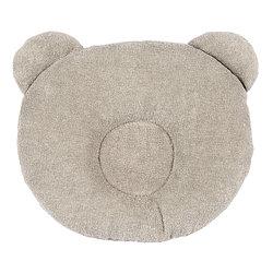 Подушка анатомическая Candide Панда Brownish-Grey Panda pillow 21x19cm, Бежевый