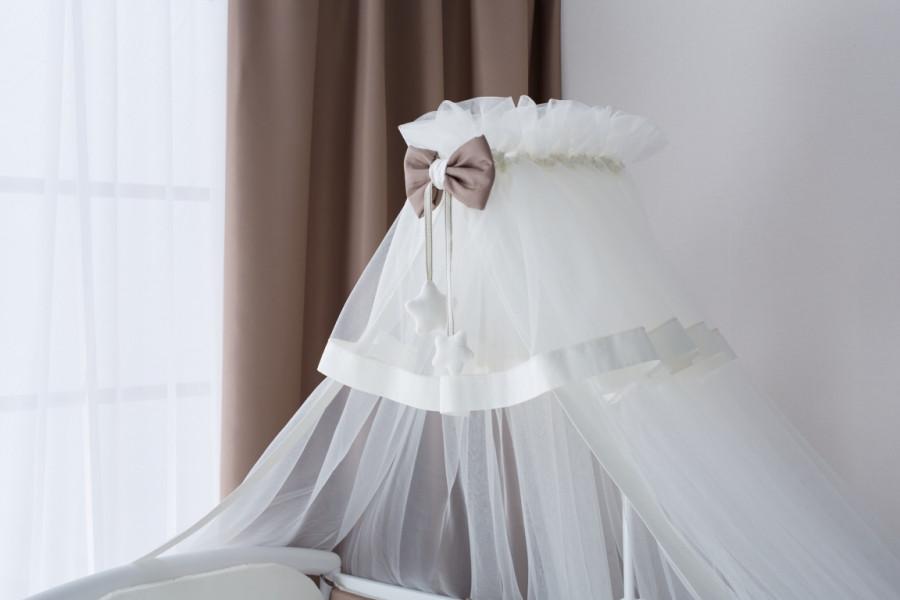 Балдахин для кроватки Perina Бамбино Капучино