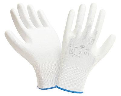 Перчатки нейлоновые с полиуретаном 2Hands Air 2101