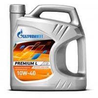 Моторное масло GAZPROMNEFT Premium L 10w40 4 литра