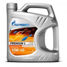 Моторное масло GAZPROMNEFT Premium L 10w40 5 литров