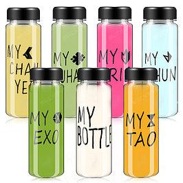 Бутылочки с надписями