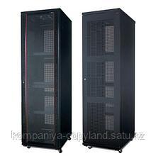 Шкаф серверный, SHIP, 601S.6047.24.100, 124 серия, 19'' 47U, 600*1000*2200 мм, Ш*Г*В, IP20, Чёрный