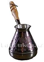 Медная турка для варки кофе 200 мл (Станица)
