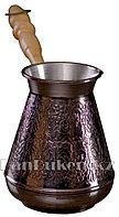 Медная турка для варки кофе 500 мл (Станица)
