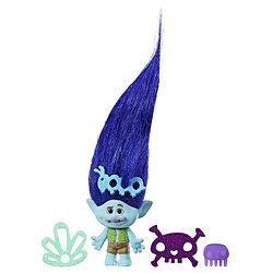 Hasbro Тролли - Цветан с супер длинными поднимающимися волосами