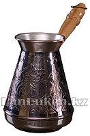 Медная турка для варки кофе 600 мл (Станица)