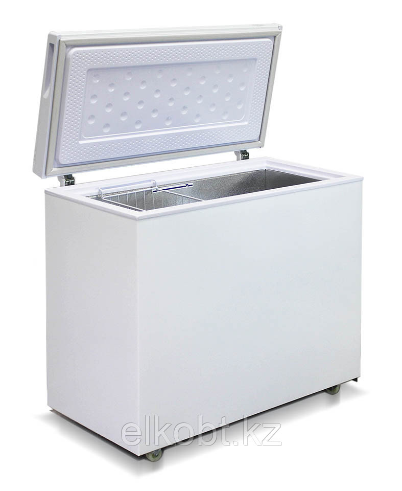 Морозильный ларь с глухой крышкой Бирюса-240VК