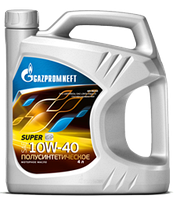 Моторное масло GAZPROMNEFT SUPER SG/CD 10w40 4 литра