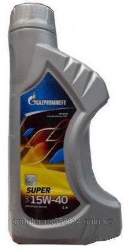 Моторное масло GAZPROMNEFT SUPER 15w40 1 литр